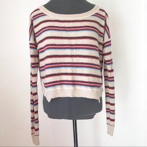 Free People Beach Striped Sweater